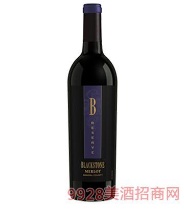 黑石索诺玛珍藏美乐干红葡萄酒