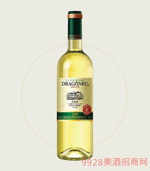 鲁龙大酒窖雷司令干白葡萄酒2009OAK128