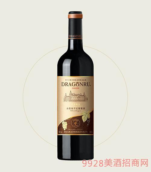 鲁龙酒庄优级精选赤霞珠干红葡萄酒OAK208