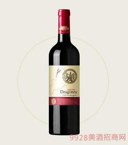 鲁龙酒庄老树赤霞珠干红葡萄酒OAK328