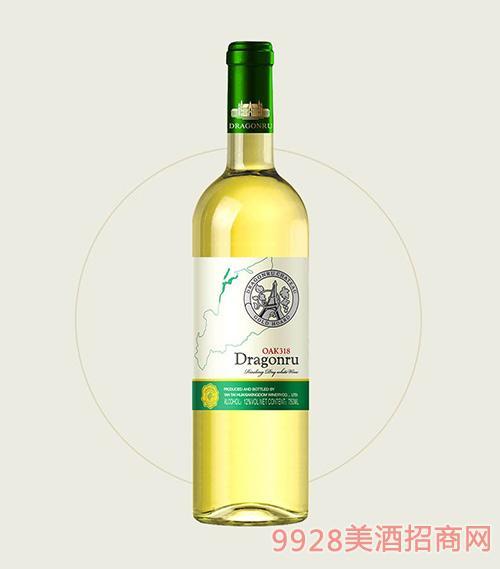 鲁龙酒庄老树雷司令干白葡萄酒OAK318
