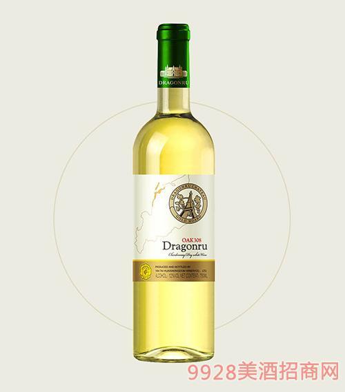 鲁龙酒庄老树莎当妮干白葡萄酒OAK308