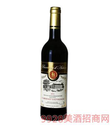 法国安平堡精选赤霞珠干红葡萄酒