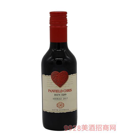 奔富克�斯520西拉子干�t葡萄酒187ml