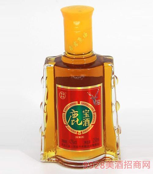希勤鹿场鹿宝酒配制酒42度250ml