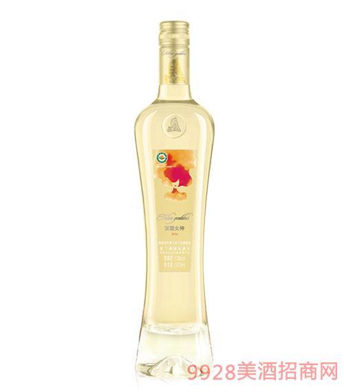贺兰女神有机干白葡萄酒14度500ml