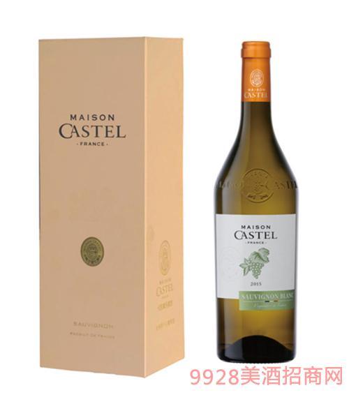 Castel家族长相思干白葡萄酒750ml