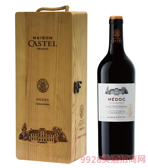 Castel家族梅多克干红葡萄酒750ml