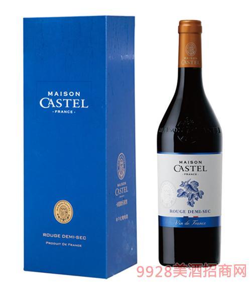 Castel家族半干红葡萄酒