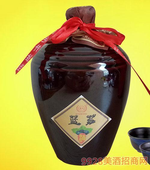 黄氏小醉坛蓝莓酒