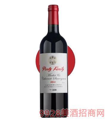 梅洛赤霞珠干红葡萄酒