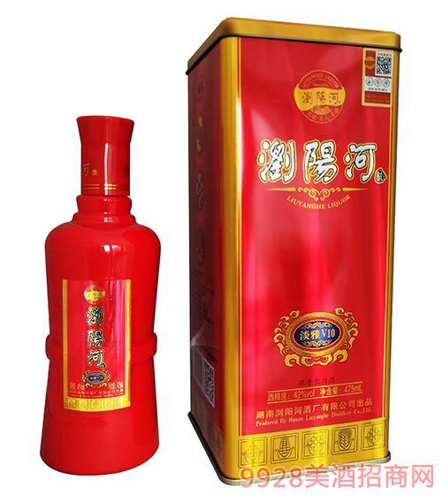 浏阳河酒淡雅V10-42度475ml