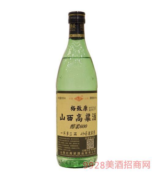 山西高粱酒醇柔600ml