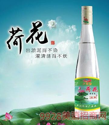 卢沟桥荷花酒39度42度450ml柔和清香型