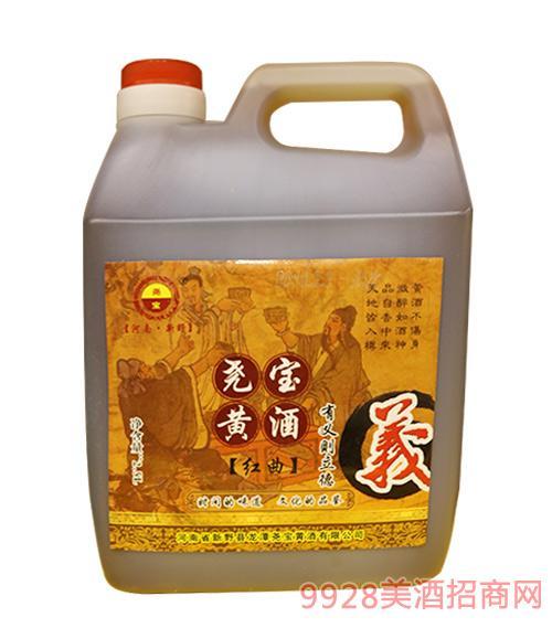 桶装尧宝红曲黄酒2.5L