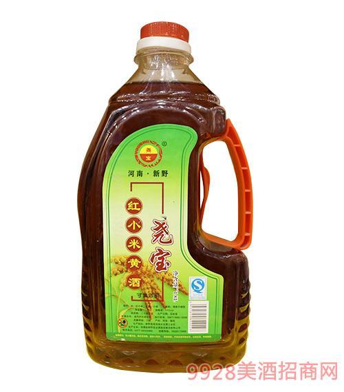 桶装尧宝红小米黄酒1.8L