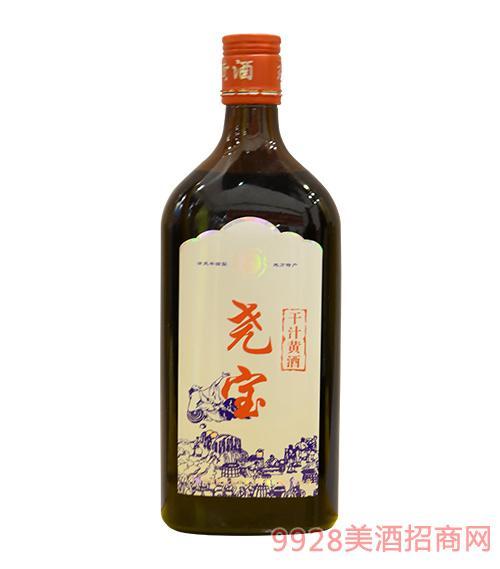 尧宝干汁黄酒12度500ml