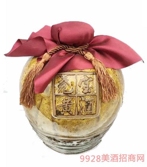 尧宝红曲黄酒三国系列2坛一箱