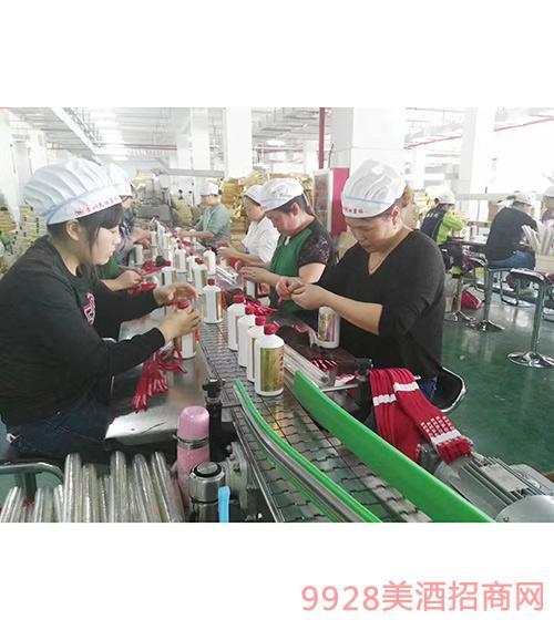 贵州民族酒业六万吨基酒储备