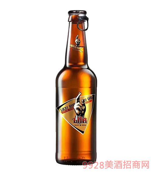 ?#20197;?#25163;精酿纯麦啤酒9°P450ml