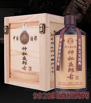 神秘夜郎古酒53度500ml