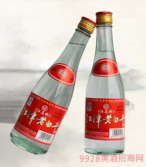 江津老白干光瓶酒清香型50度440ml×12瓶