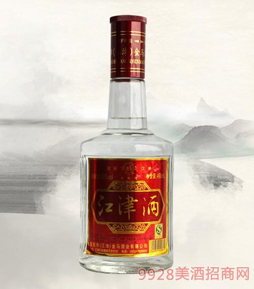 江津酒红标清香型50度490ml×12瓶