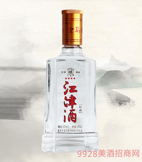 江津酒清香型52度460ml×8瓶