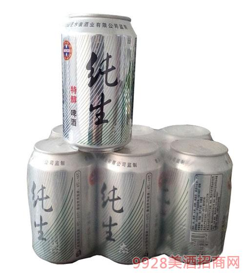 圣水泉纯生特醇啤酒