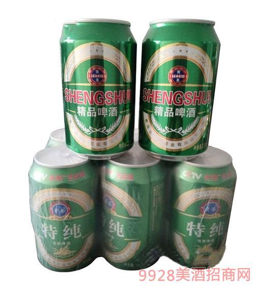 圣水泉精品啤酒