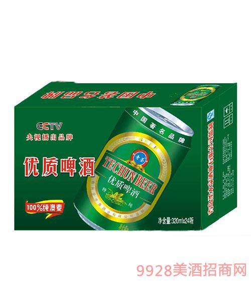 特纯320ml-易拉罐啤酒
