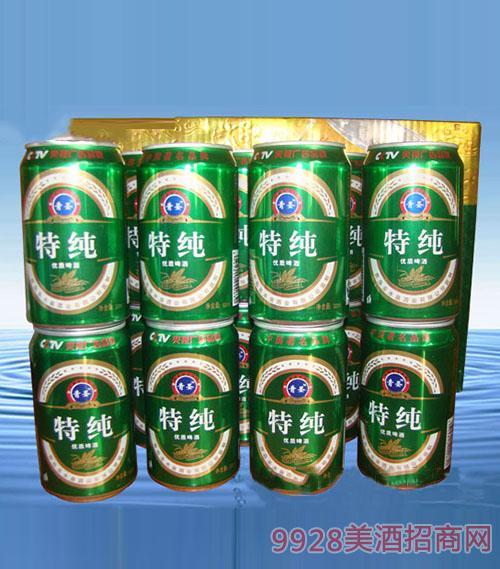 特纯优质啤酒