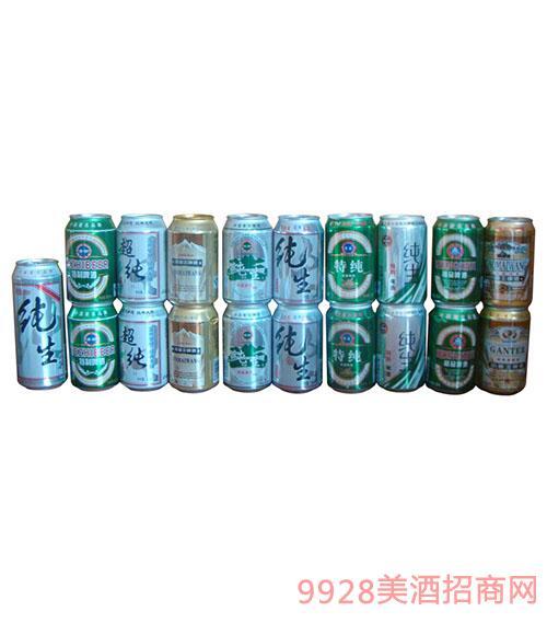 易拉罐啤酒组合