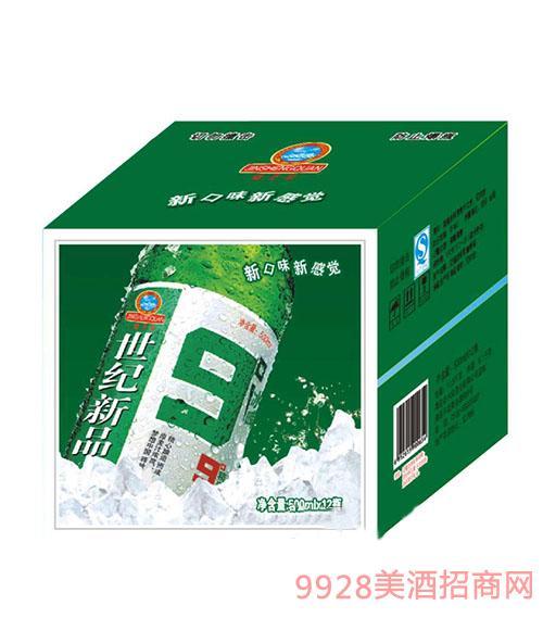 世纪新品啤酒500mlx12瓶