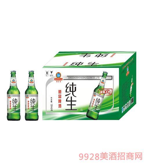 新品纯生瓶啤酒