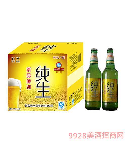 新品啤酒纯生
