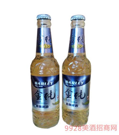 金纯啤酒330mlx24瓶