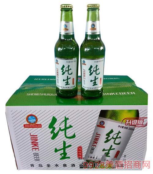 纯生风味啤酒升级版330mlx24瓶