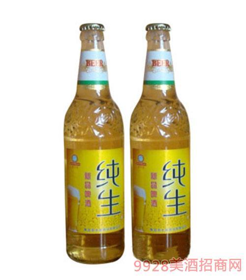 新品纯生-塑包啤酒