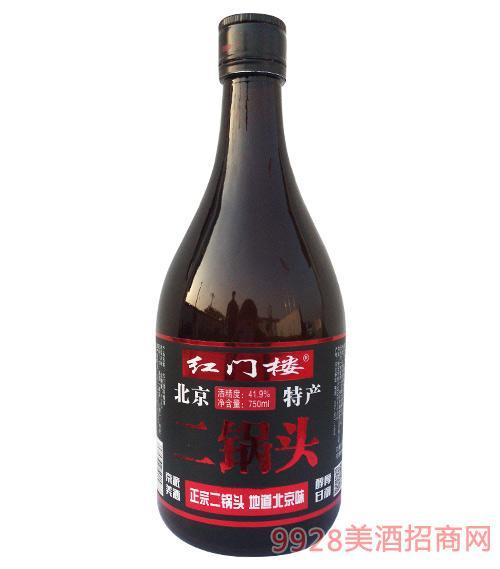 红门楼二锅头酒41.9度750ml