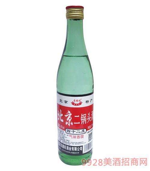 京德旺北京二锅头(绿瓶)42度500ml