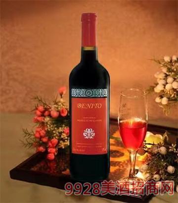 西班牙贝尼多干红葡萄酒