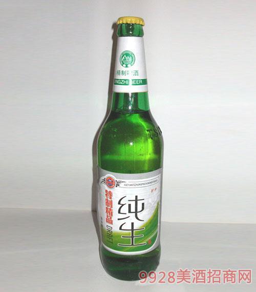 特制精品纯生啤酒
