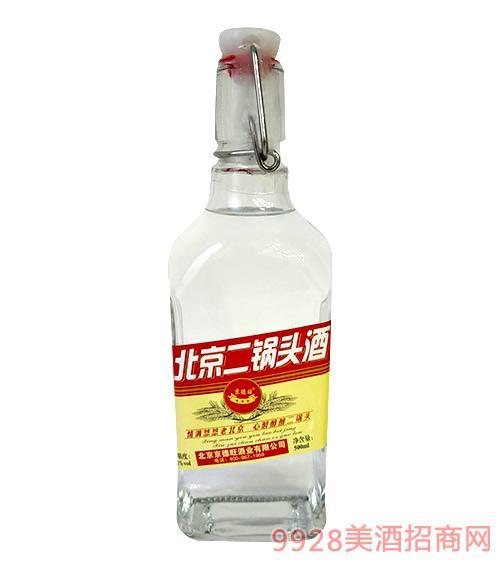 京德旺北京二��^酒(�t)42度500ml
