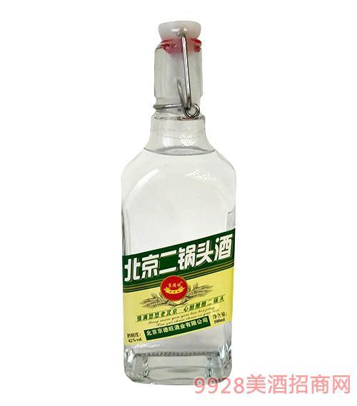 京德旺北京二��^酒(�G)42度500ml