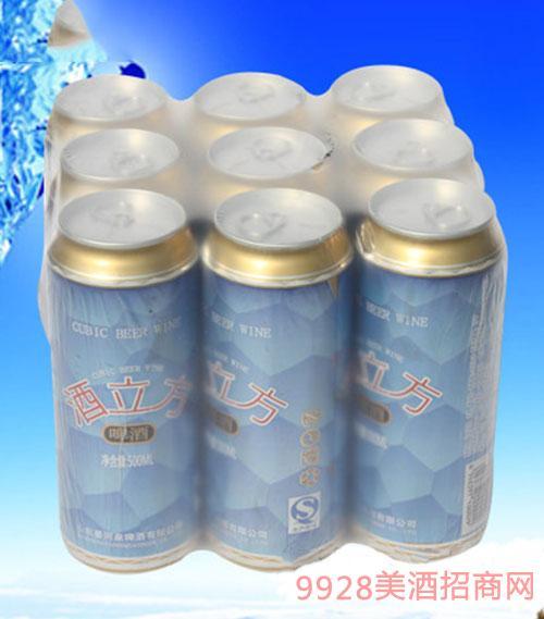 酒立方啤酒500ml(蓝)