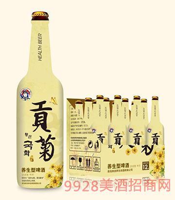 韩社长贡菊养生型啤酒