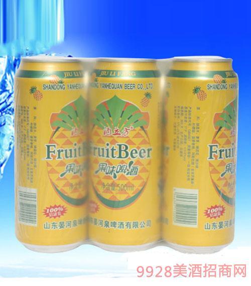 酒立方果味啤酒500ml