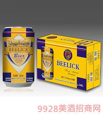 贝利克啤酒330mlx24
