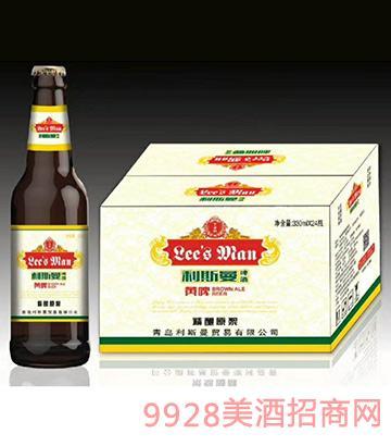 利斯曼啤酒黄啤330mlx24